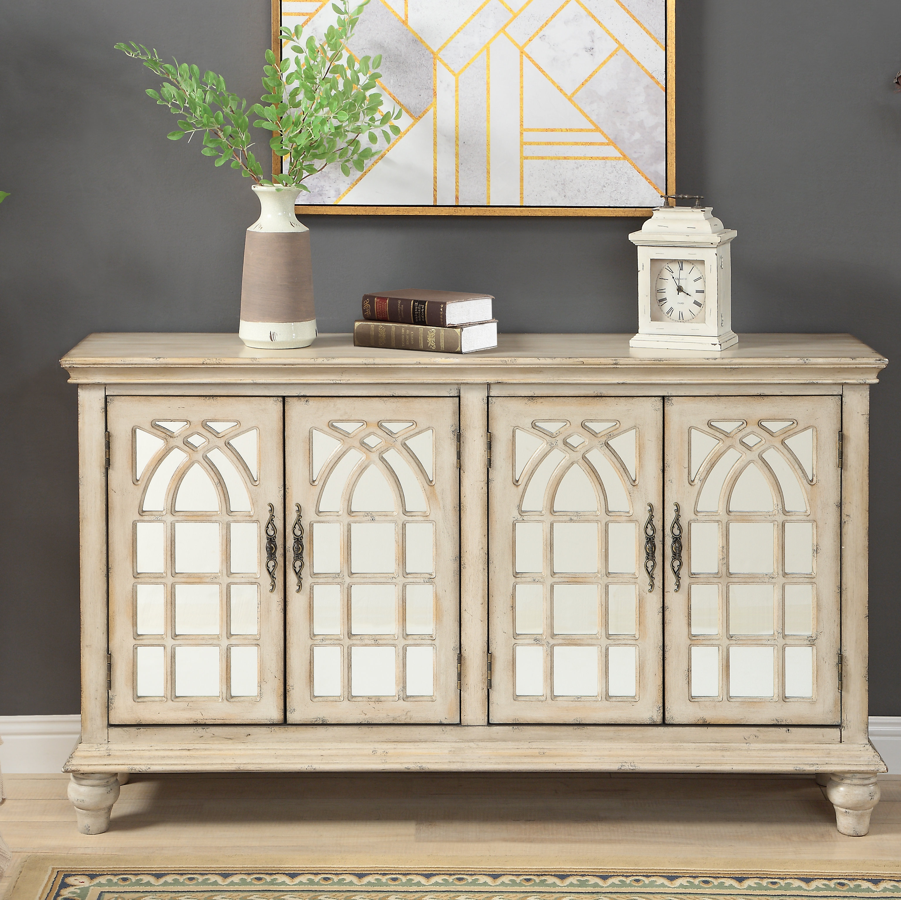 Living Room Credenza | Wayfair Intended For Recent Adelbert Credenzas (#14 of 20)