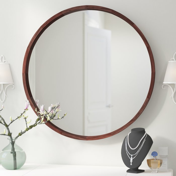 Inspiration about Loftis Modern & Contemporary Accent Wall Mirror Intended For Colton Modern & Contemporary Wall Mirrors (#20 of 20)