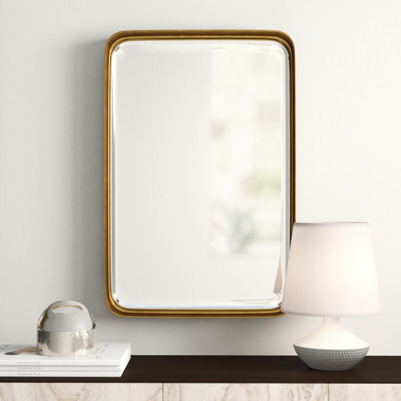 Lugo Rectangle Accent Mirror Intended For Rectangle Accent Mirrors (#17 of 20)