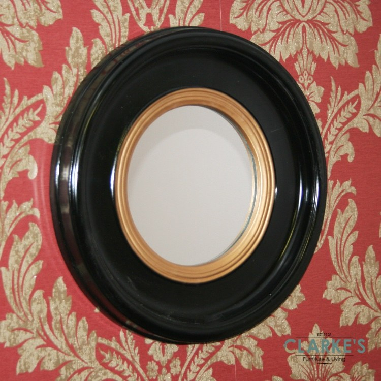 Inspiration about Luna Black Accent Mirror 42Cm With Luna Accent Mirrors (#18 of 20)