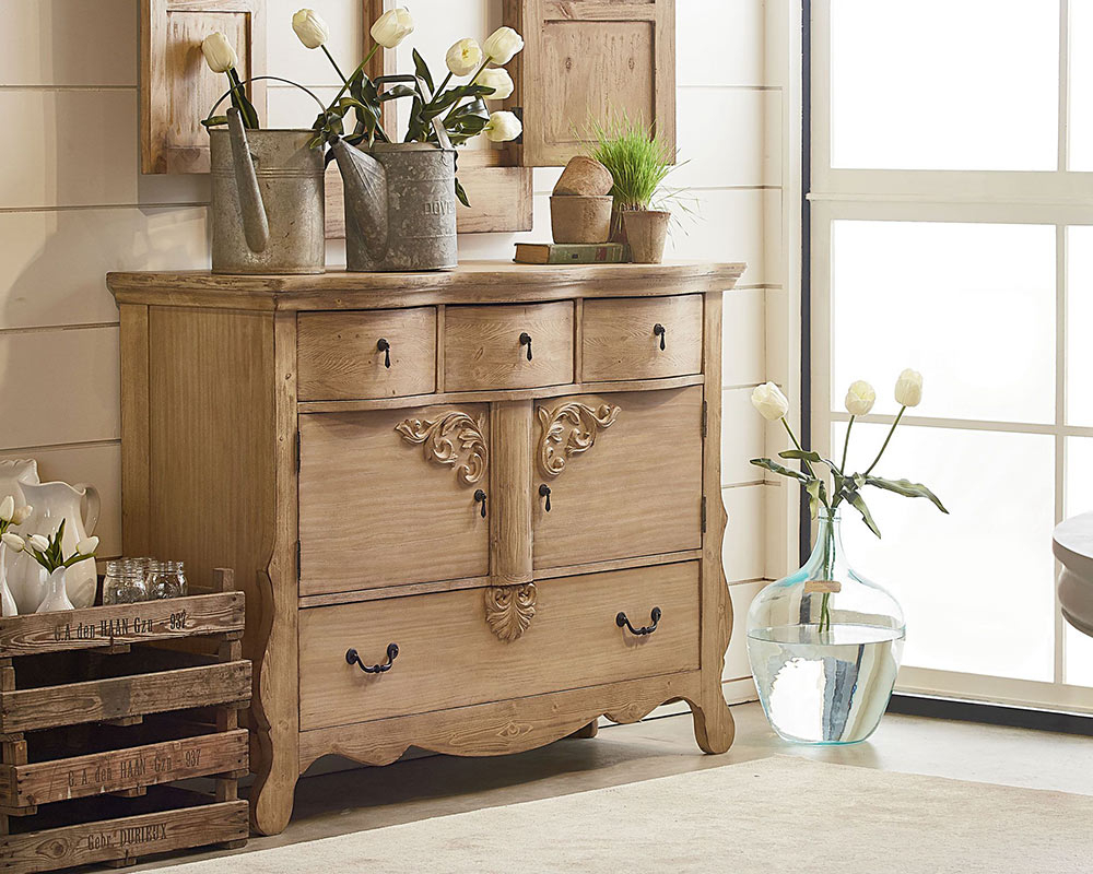 Magnolia Home Furniture Golden Era Sideboard – Knoxville Inside Most Up To Date Knoxville Sideboards (View 4 of 20)