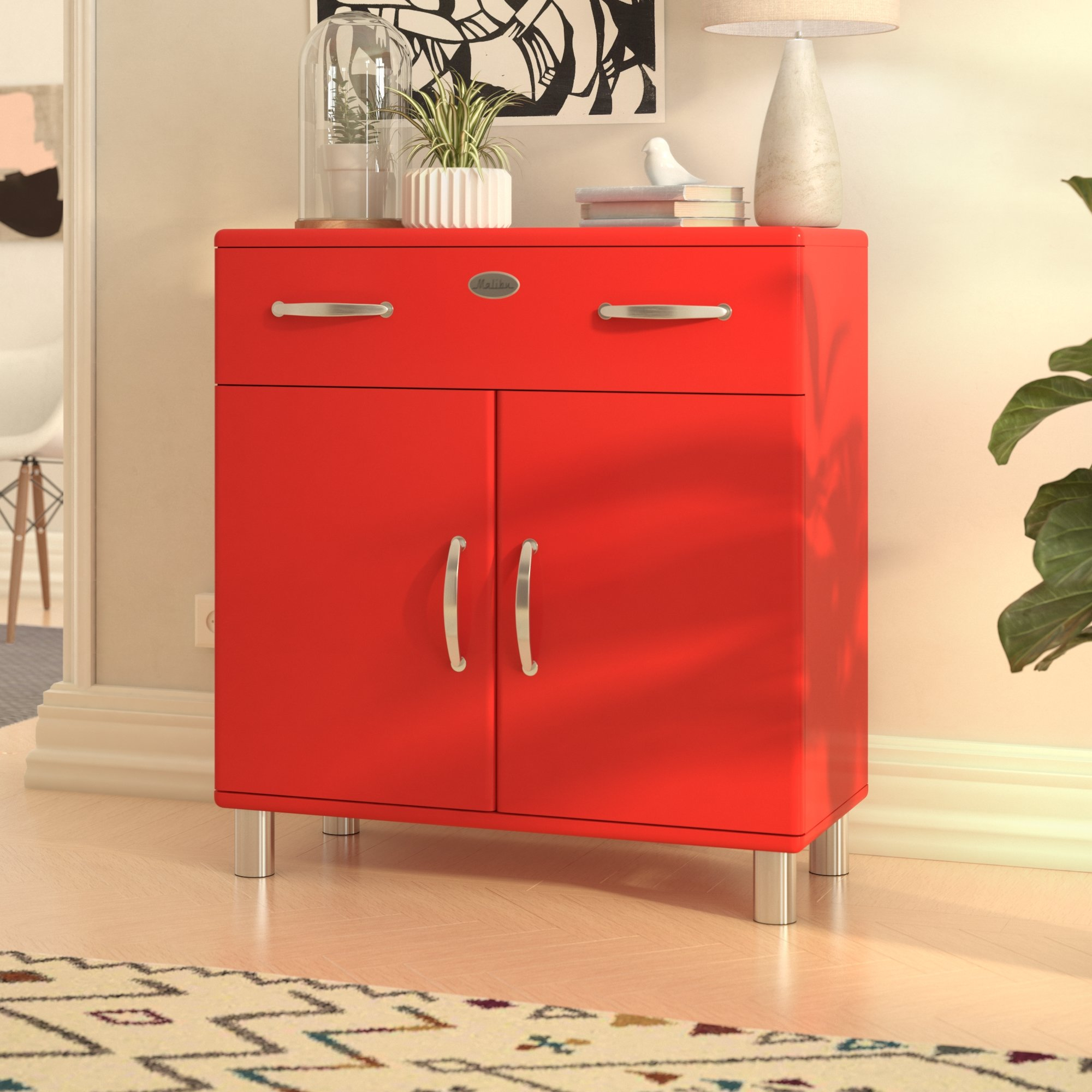 Inspiration about Malibu 2 Door 1 Drawer Combi Chest With Best And Newest Malibu 2 Door 4 Drawer Sideboards (#14 of 20)