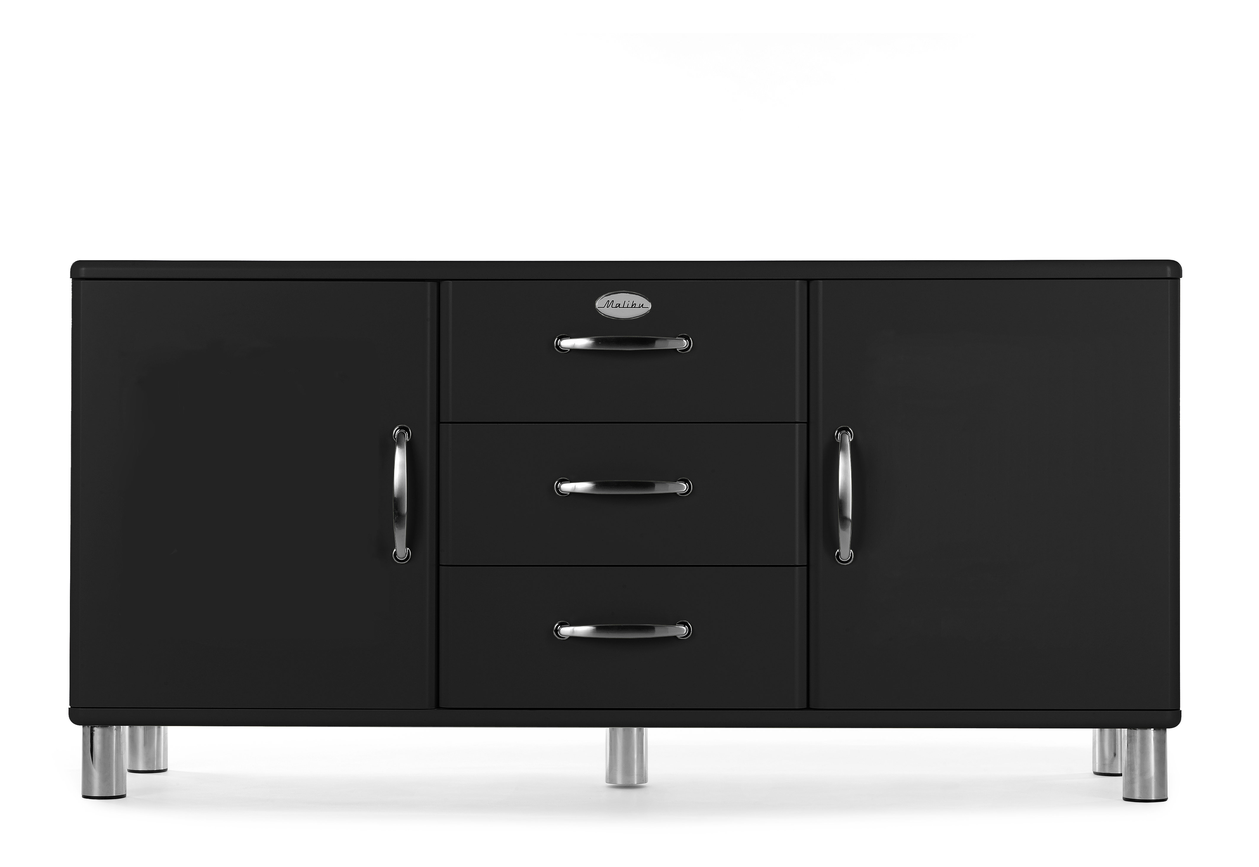 Inspiration about Malibu 2 Door 3 Drawer Sideboard Pertaining To Most Up To Date Malibu 2 Door 4 Drawer Sideboards (#7 of 20)