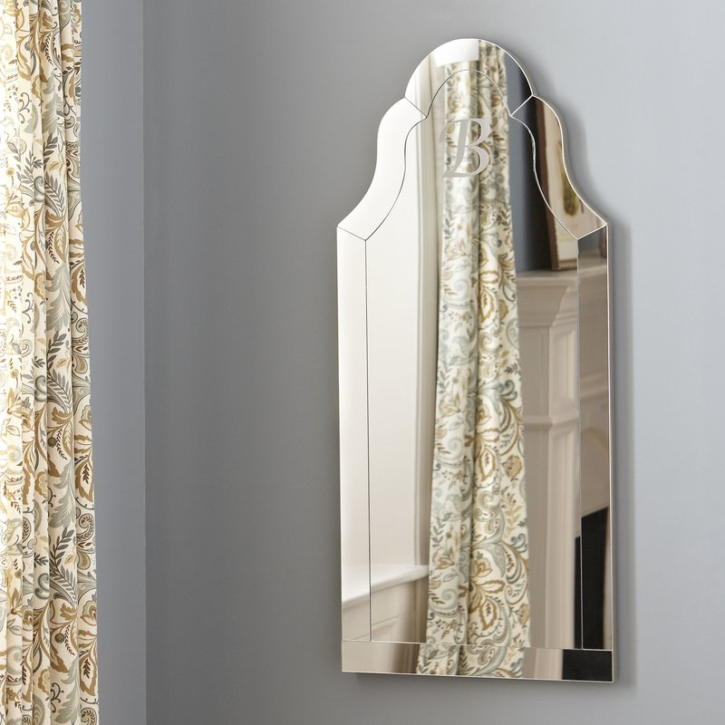 Inspiration about Margaux Arch Wall Mirror For Dariel Tall Arched Scalloped Wall Mirrors (#15 of 20)
