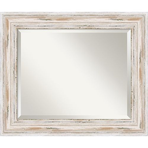 Marion Wall Mirror | Apartment Decor | Distressed Wood Wall With Regard To Marion Wall Mirrors (View 13 of 20)