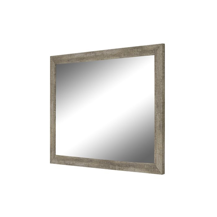 Mariyah Country Barnwood Traditional Wall Mirror & Reviews For Glynis Wild West Accent Mirrors (View 10 of 20)