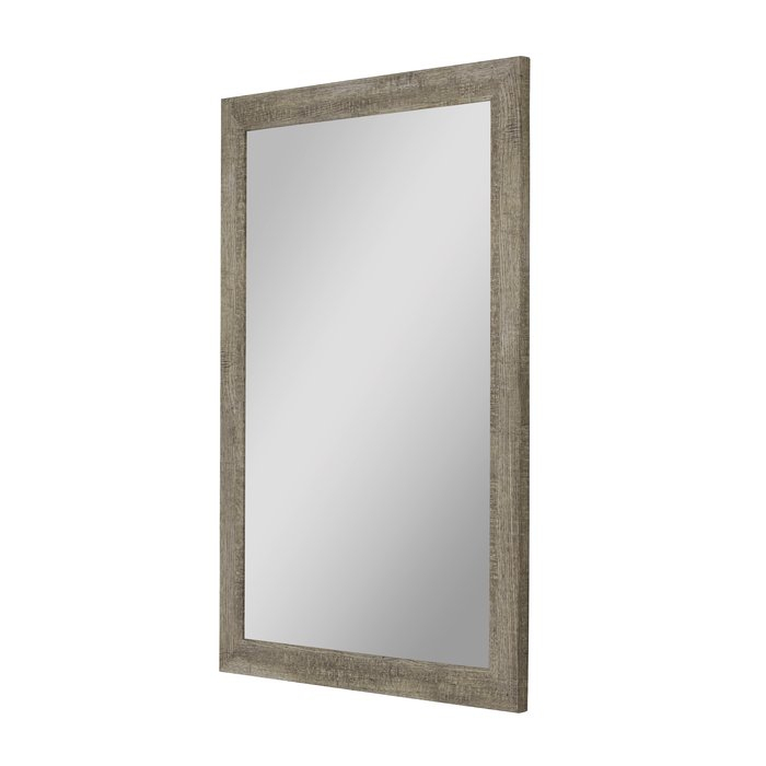 Inspiration about Mariyah Country Barnwood Traditional Wall Mirror & Reviews Throughout Glynis Wild West Accent Mirrors (#12 of 20)