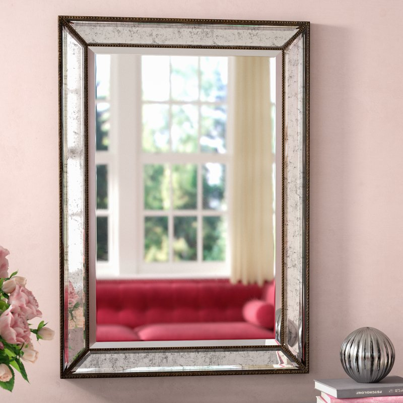 Inspiration about Marsha Traditional Rectangle Mdf/mirror Framed Accent Mirror With Maude Accent Mirrors (#20 of 20)