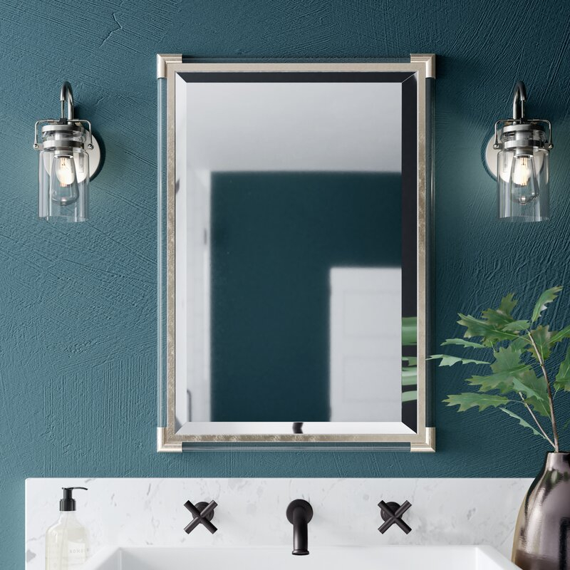 Inspiration about Marta Silver Frame Accent Wall Mirror Inside Silver Frame Accent Mirrors (#12 of 20)