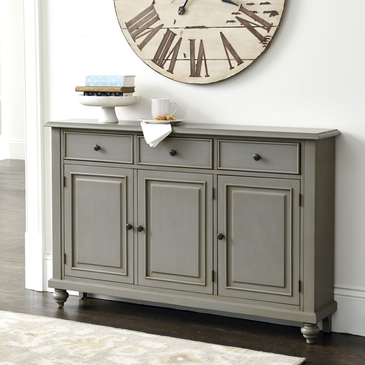 Martin 3 Door Console Table | Family Room Wall In 2019 Regarding Current Giulia 3 Drawer Credenzas (View 12 of 20)
