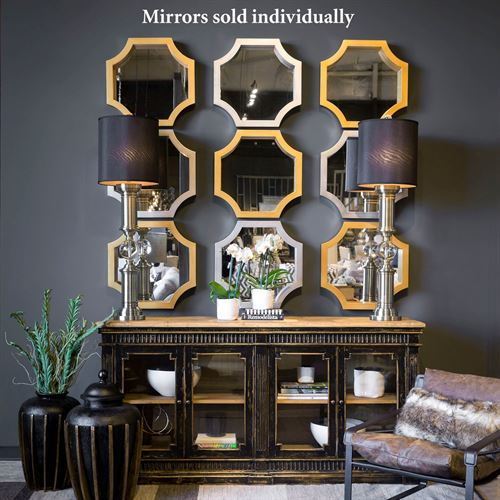 Inspiration about Mattingly Octagonal Accent Wall Mirror Intended For Accent Mirrors (#1 of 20)