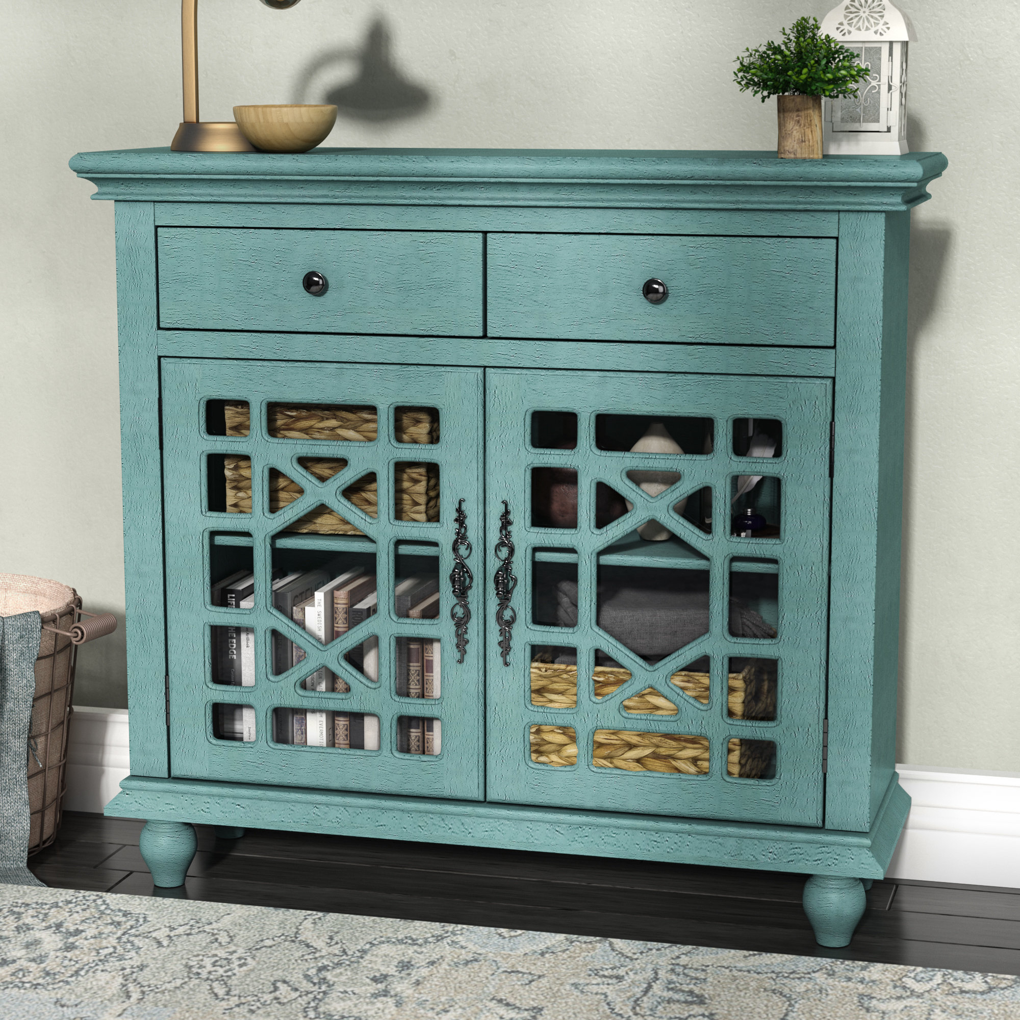 Inspiration about Mauldin 2 Door Cabinet Throughout Most Popular Mauldin Sideboards (#9 of 20)