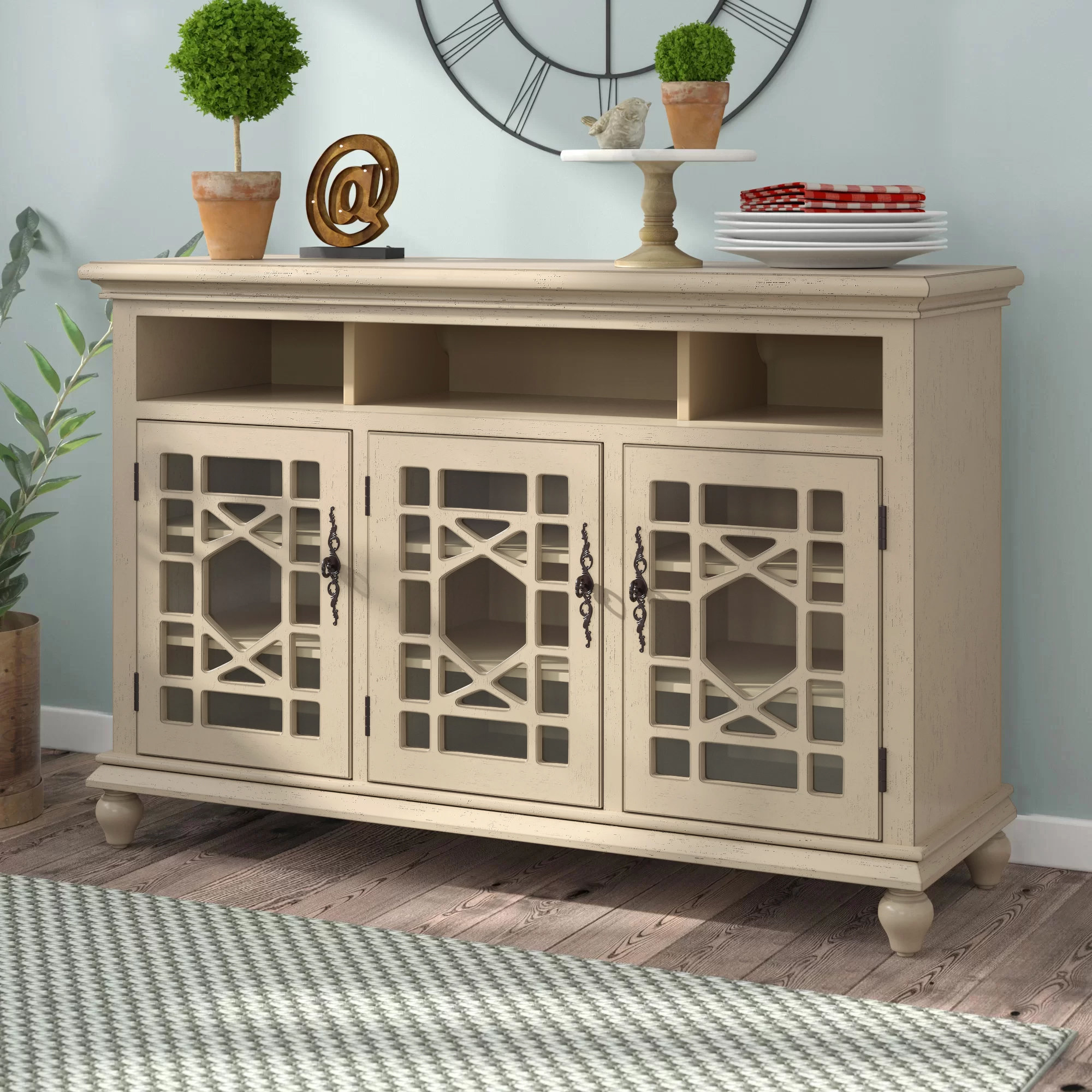Inspiration about Mauldin Sideboard Throughout Most Recent Mauldin 3 Door Sideboards (#5 of 20)