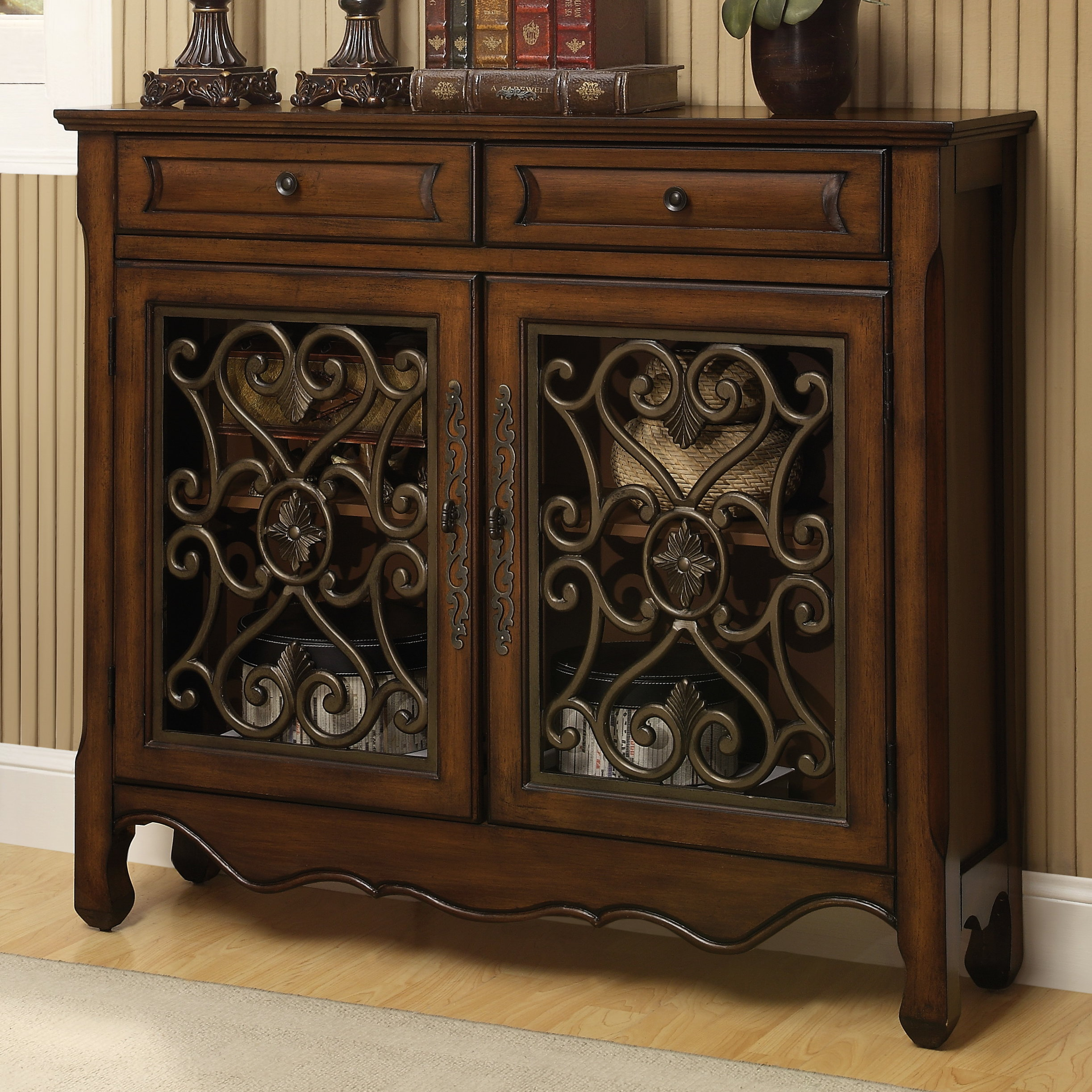 Inspiration about Mauzy 2 Door Accent Cabinet For Most Popular Mauzy Sideboards (#6 of 20)