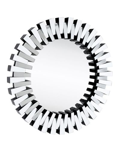 Mazamet Modern Mirror – Discontinued In 2019 | Decor Inside Deniece Sunburst Round Wall Mirrors (#10 of 20)