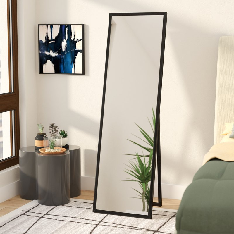 Mcgary Free Standing Floor Modern & Contemporary Full Length Mirror For Modern & Contemporary Full Length Mirrors (View 9 of 20)