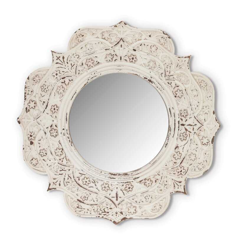 Inspiration about Mcgreevy Medallion Accent Mirror With Medallion Accent Mirrors (#3 of 20)