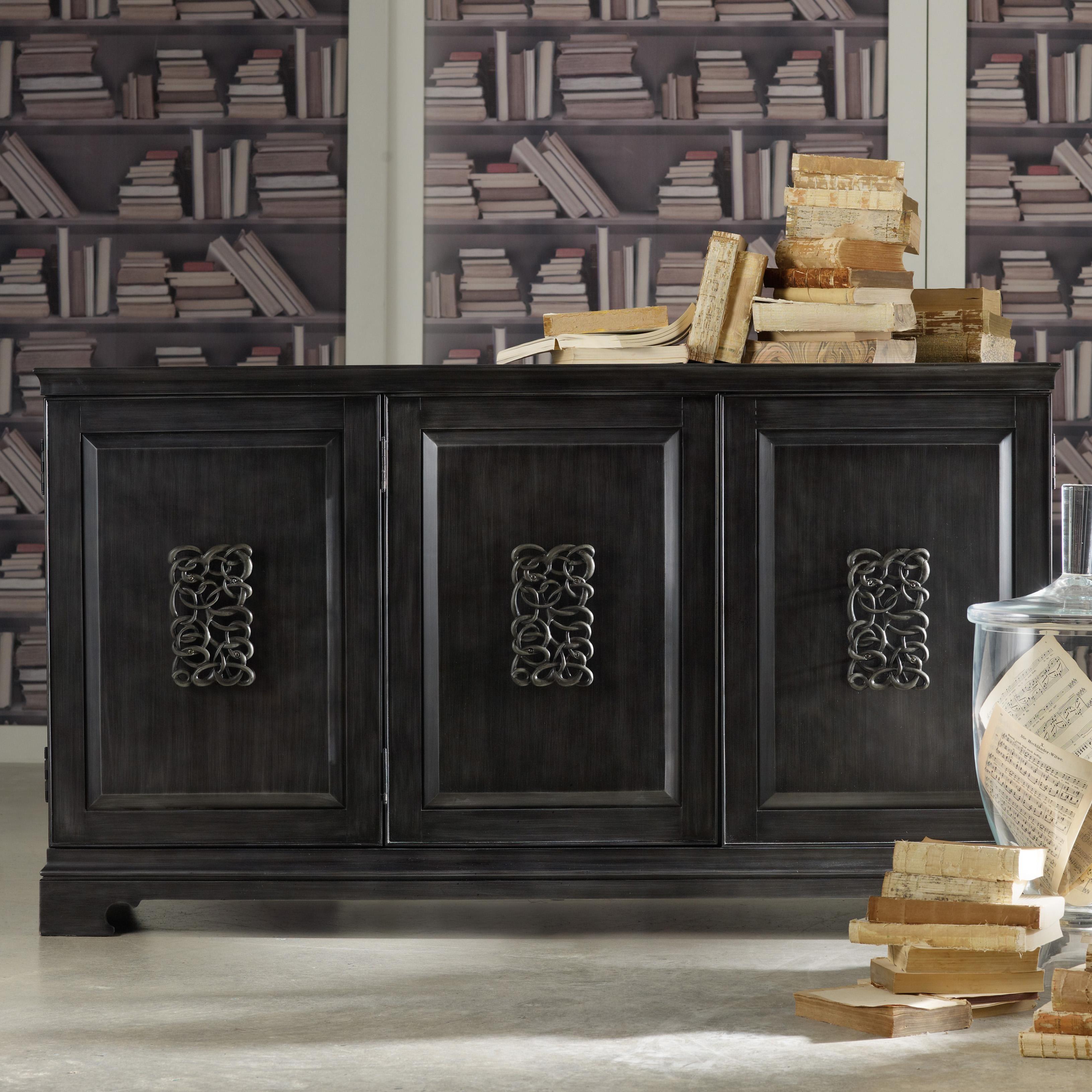 Inspiration about Mélange Brockton Credenzahooker Furniture | Benefit Home Inside Best And Newest Melange Brockton Sideboards (#1 of 20)