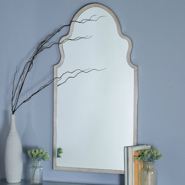 Inspiration about Menachem Modern & Contemporary Accent Mirror Intended For Fifi Contemporary Arch Wall Mirrors (#20 of 20)