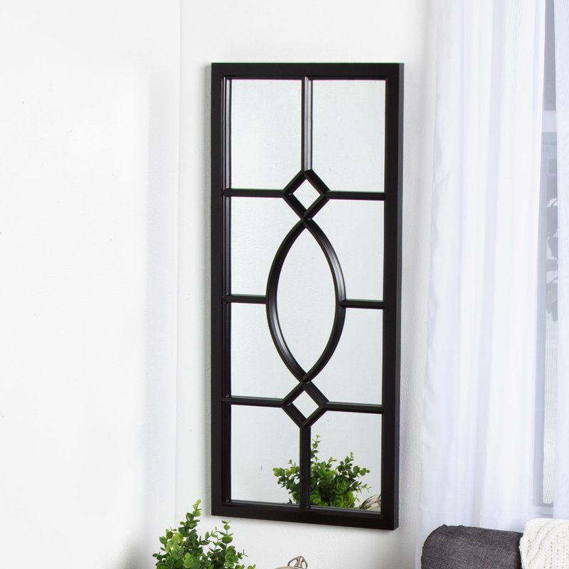 Inspiration about Mercersburg Window Wall Accent Mirror Throughout Stamey Wall Mirrors (#12 of 20)