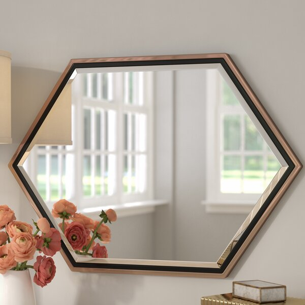 Metal Framed Wall Mirror | Wayfair With Regard To Eriq Framed Wall Mirrors (#17 of 20)