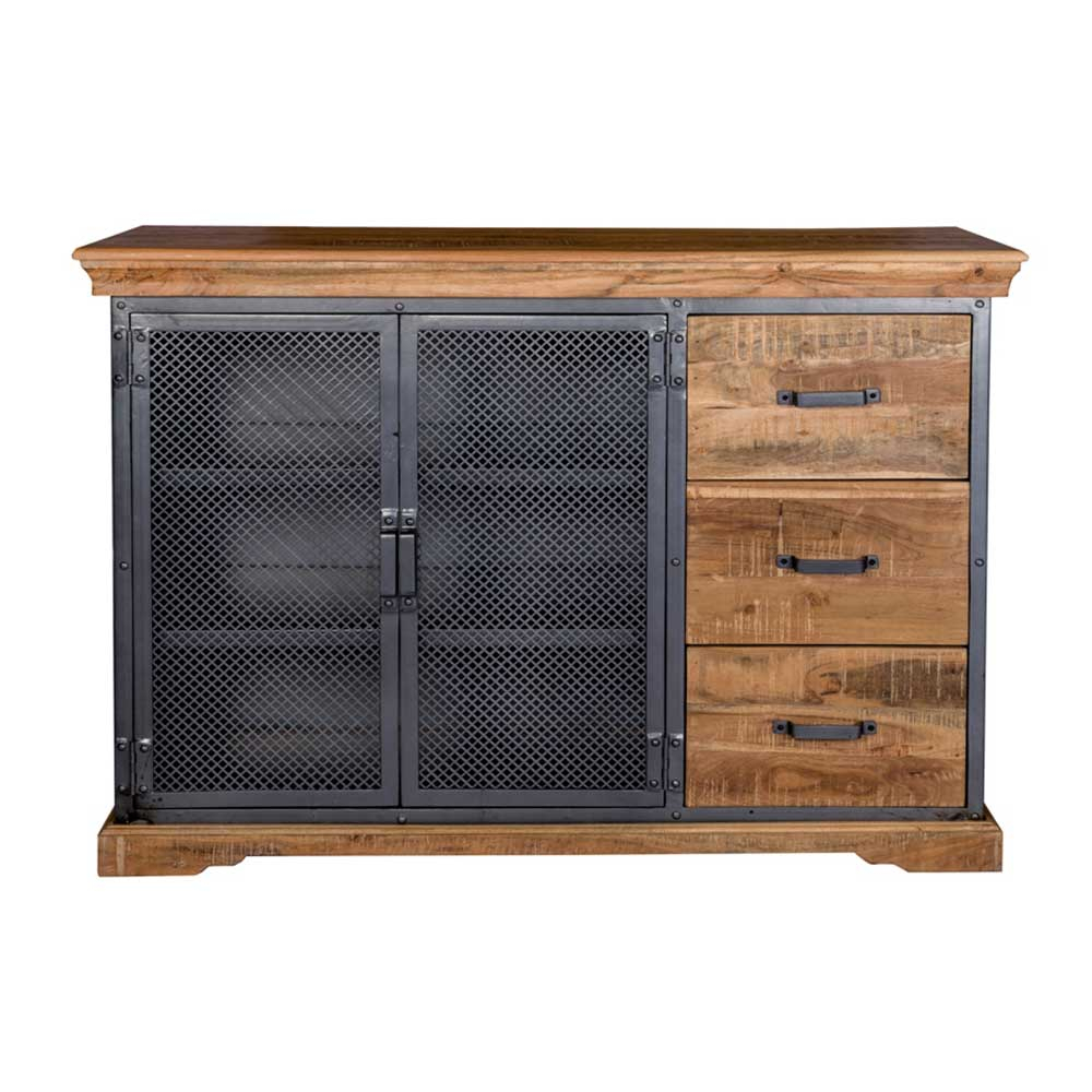 Metro Industrial Large Sideboard With Regard To 2018 Metro Sideboards (#8 of 20)
