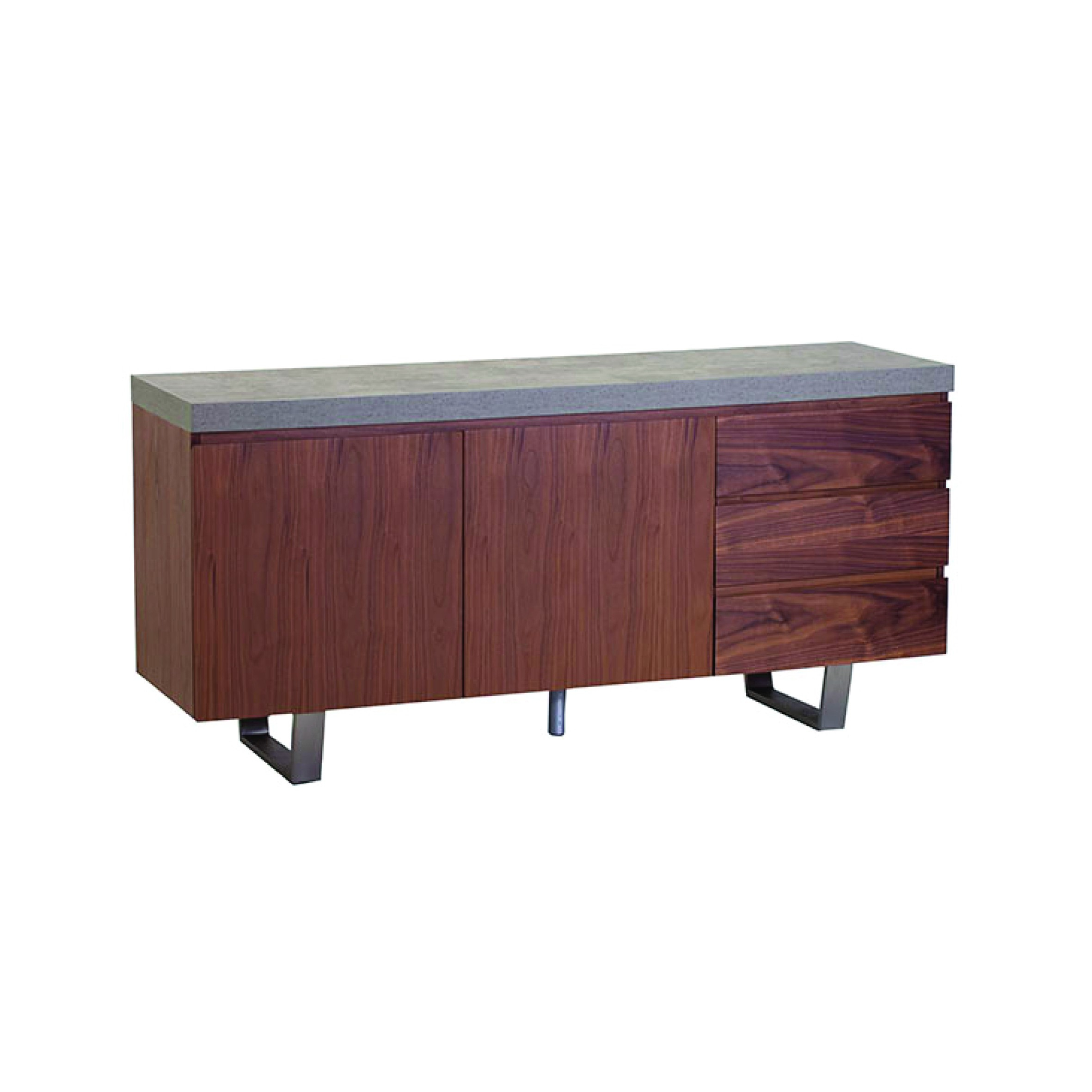 Metro Wide Sideboard Inside 2018 Metro Sideboards (#7 of 20)