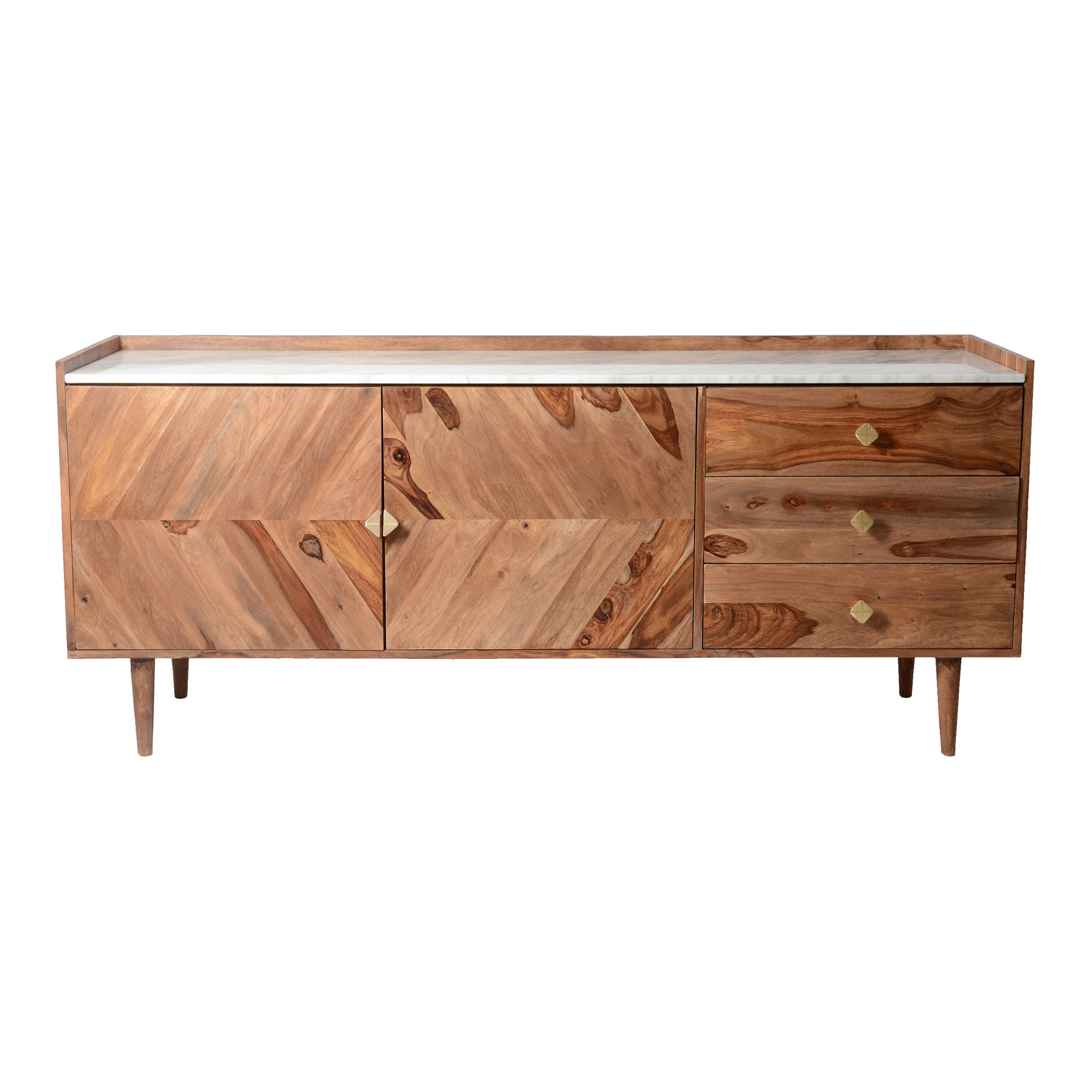 Mid Century Modern Sideboard / Credenza Sideboards & Buffets Pertaining To Most Recent Longley Sideboards (View 13 of 20)
