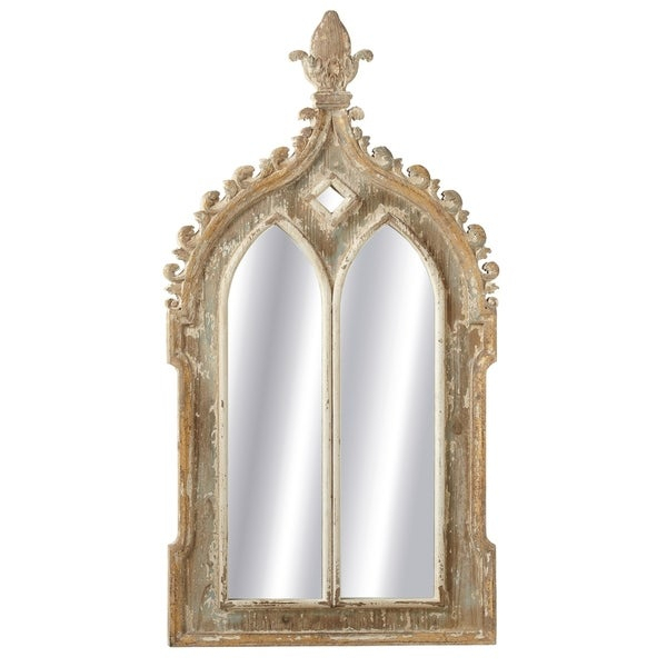 Inspiration about Midwest Cbk Gold Framed Double Arch Wall Mirror Regarding Gold Arch Wall Mirrors (#19 of 20)