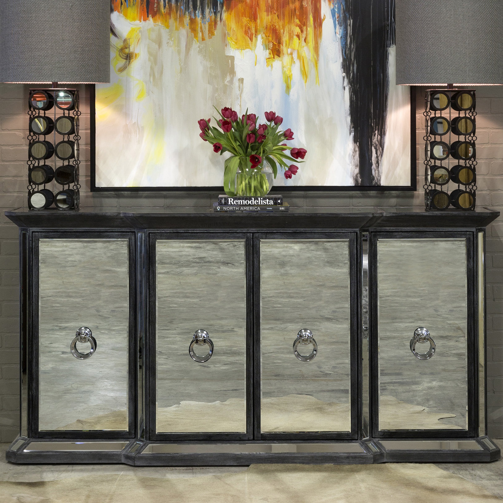 Inspiration about Millan 4 Door Sideboard With Latest Casolino Sideboards (#15 of 20)