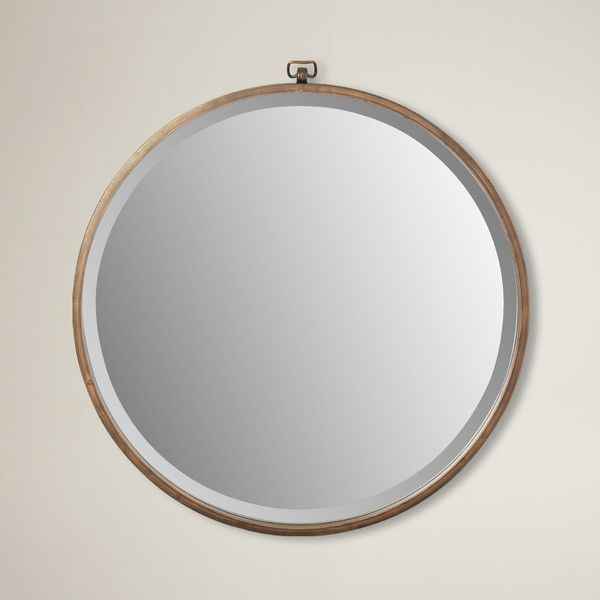 Minerva Accent Mirror | Priscilla's Entry Hall | Vanity Wall With Minerva Accent Mirrors (#19 of 20)