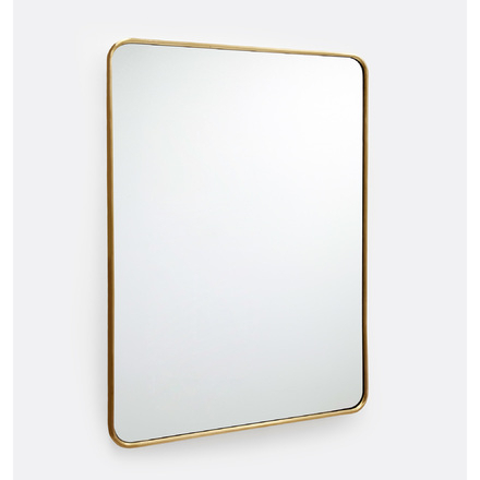 Inspiration about Mirrors: Wall & Floor Mirrors | Rejuvenation With Rectangle Antique Galvanized Metal Accent Mirrors (#10 of 20)