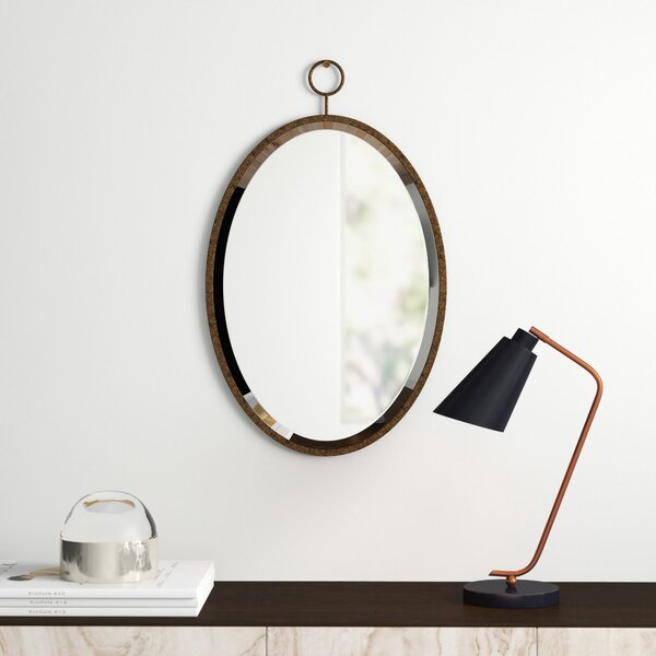Inspiration about Modern & Contemporary Antique Bronze Mirror | Allmodern Pertaining To Brynn Accent Mirrors (#20 of 20)