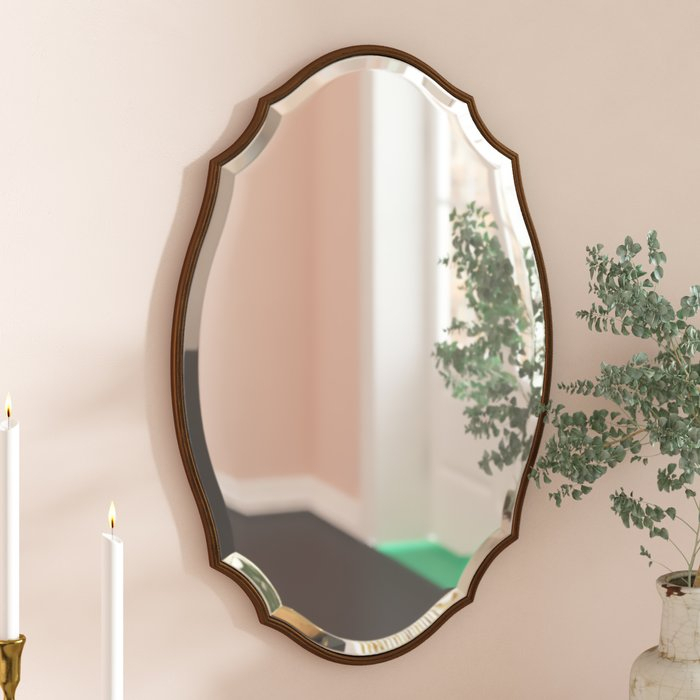 Inspiration about Modern & Contemporary Beveled Accent Mirror With Regard To Modern & Contemporary Beveled Accent Mirrors (#1 of 20)