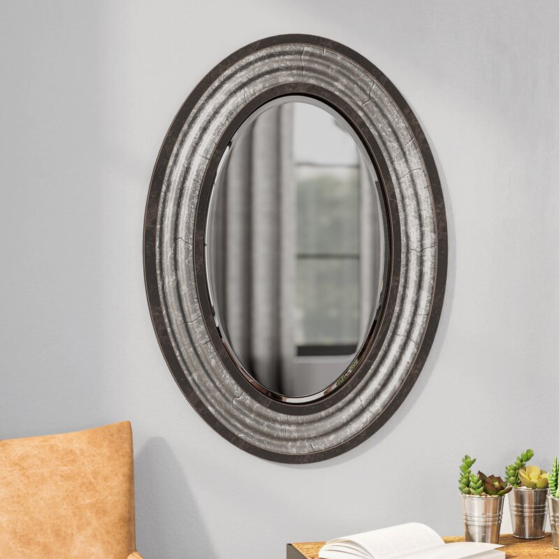 Inspiration about Modern & Contemporary Beveled Wall Mirror Regarding Modern & Contemporary Beveled Wall Mirrors (#2 of 20)