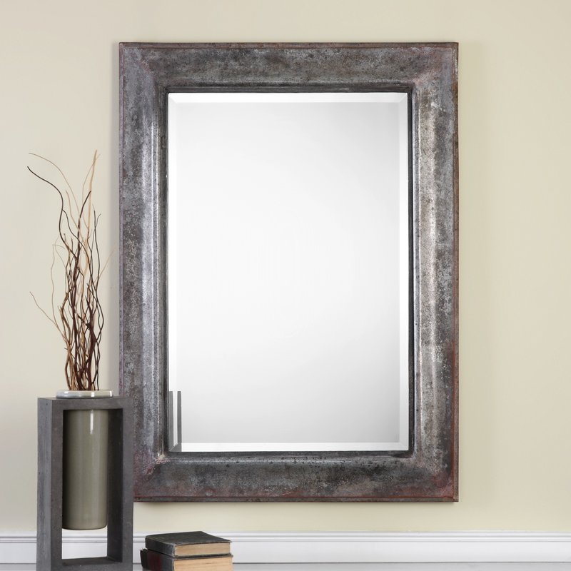 Inspiration about Modern & Contemporary Beveled Wall Mirror With Regard To Modern & Contemporary Beveled Wall Mirrors (#9 of 20)