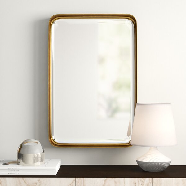 Inspiration about Modern & Contemporary Duke Rectangle Accent Mirror | Allmodern Regarding Willacoochee Traditional Beveled Accent Mirrors (#16 of 20)