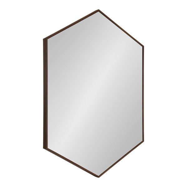 Inspiration about Modern & Contemporary Hexagon Mirror | Allmodern Throughout Gia Hexagon Accent Mirrors (#20 of 20)