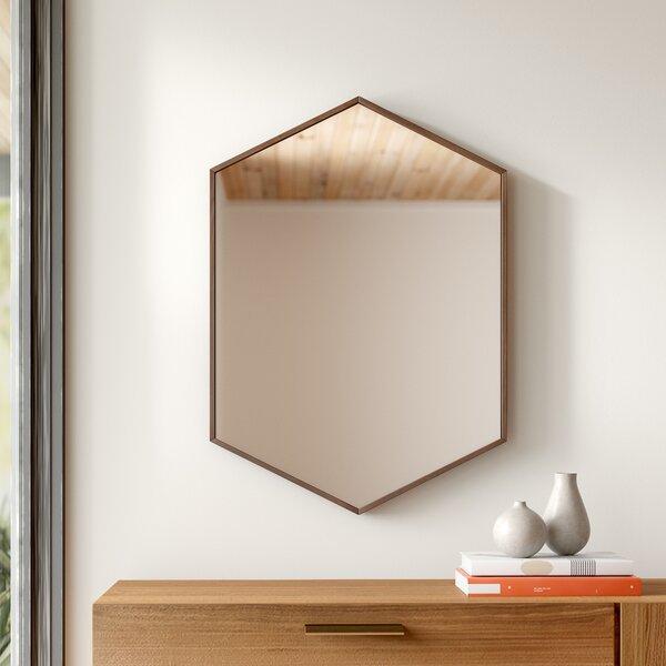 Inspiration about Modern & Contemporary Hexagon Mirror   Allmodern With Regard To Gia Hexagon Accent Mirrors (#17 of 20)