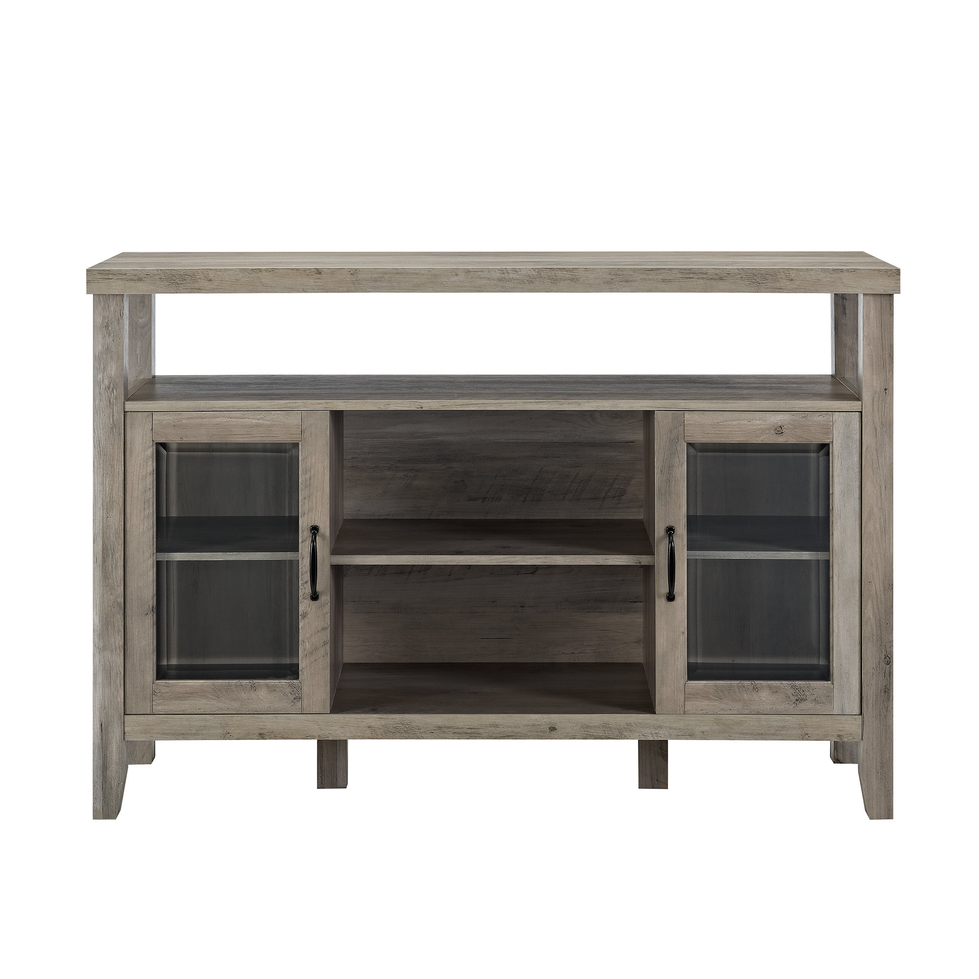 Inspiration about Modern & Contemporary Juniper 3 Door Sideboard | Allmodern Throughout Recent Jacklyn 3 Door Sideboards (#3 of 20)