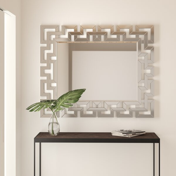 Inspiration about Modern & Contemporary Modern Large Wall Mirror | Allmodern Intended For Pennsburg Rectangle Wall Mirrors (#4 of 20)