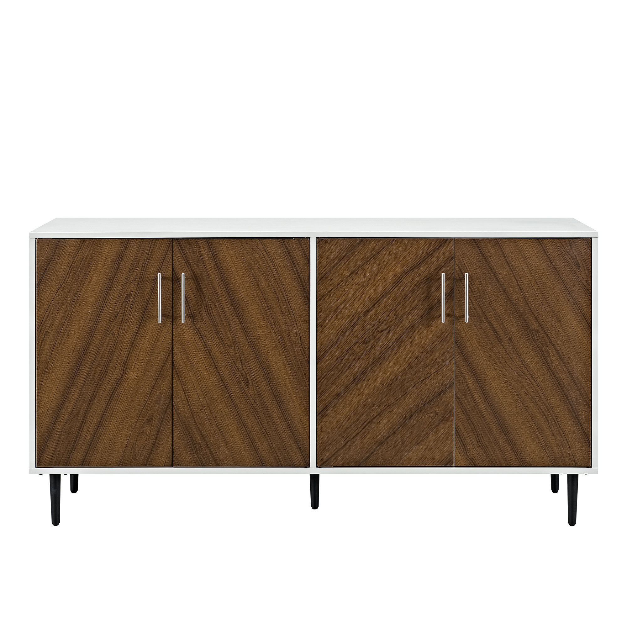 Modern & Contemporary Modern White Sideboards | Allmodern Pertaining To Most Current Dovray Sideboards (#11 of 20)