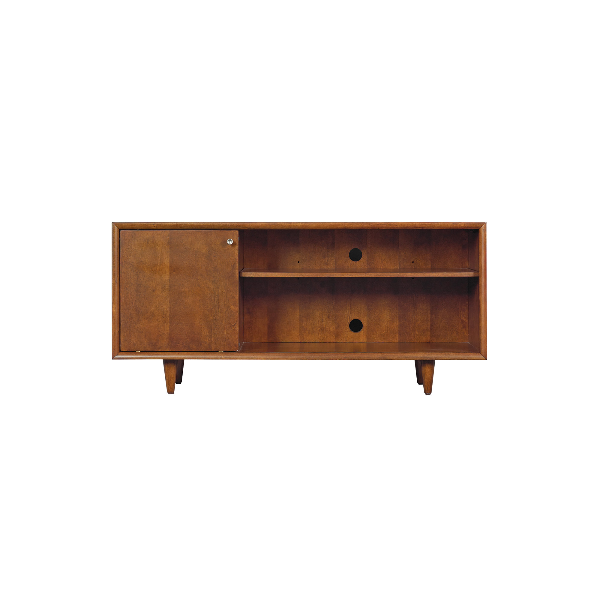 Modern & Contemporary Tv Credenza | Allmodern For Most Current Jacklyn 3 Door Sideboards (#16 of 20)