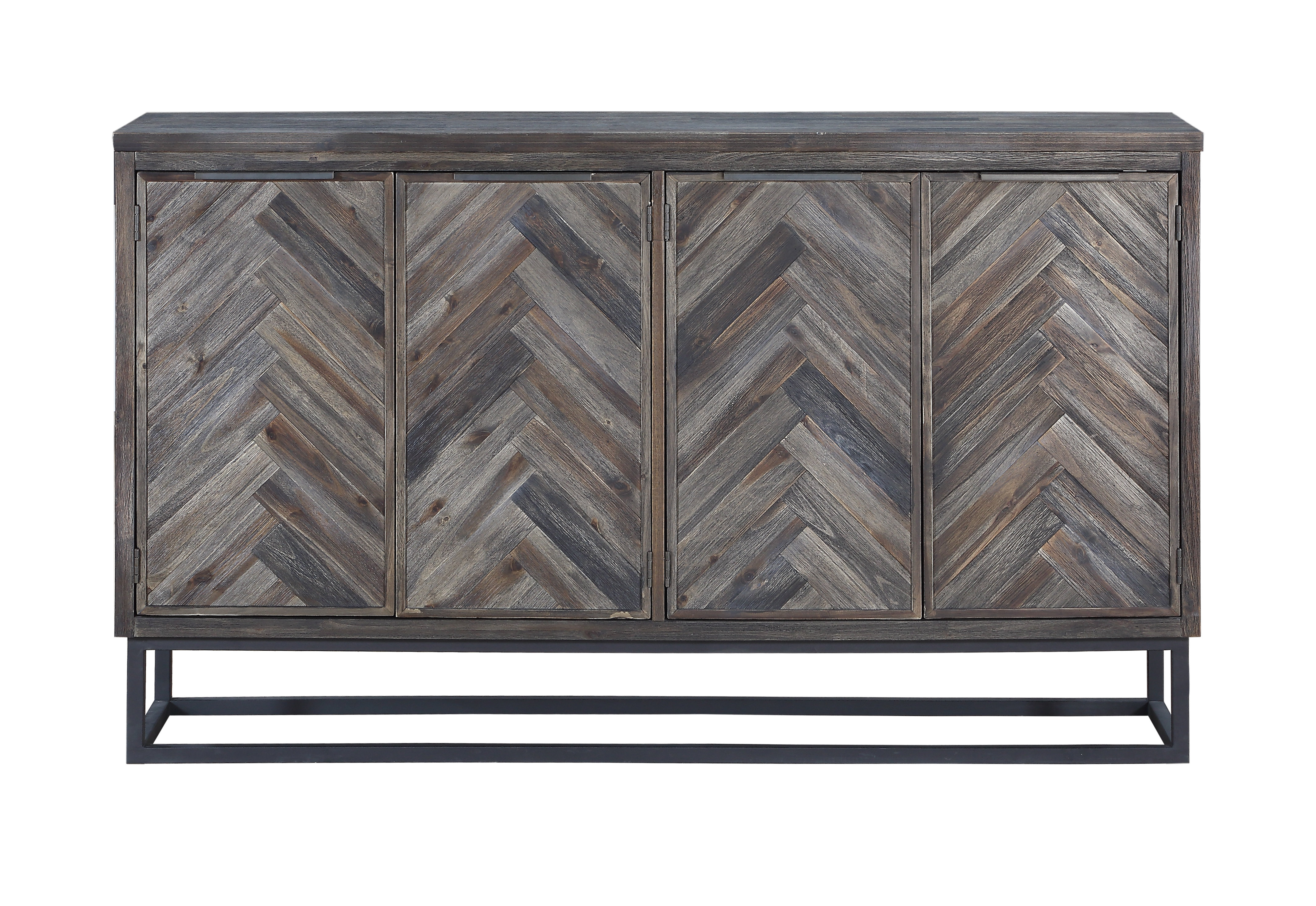 Inspiration about Modern Metal Sideboards + Buffets | Allmodern Regarding Most Current Malibu 2 Door 4 Drawer Sideboards (#12 of 20)
