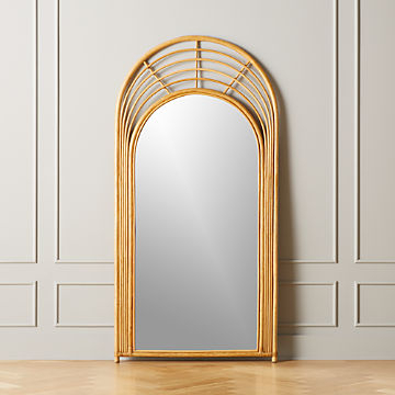 Modern Mirrors | Cb2 In Trigg Accent Mirrors (#6 of 20)