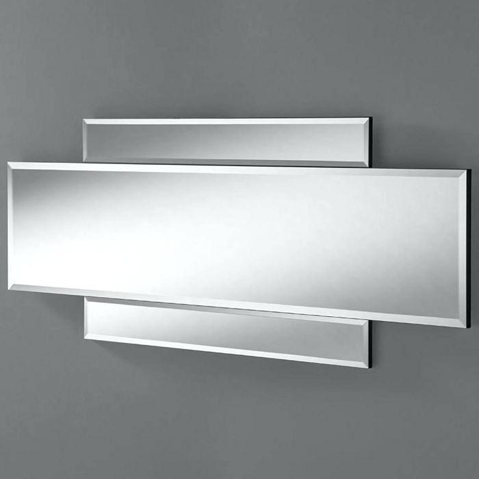 Inspiration about Modern Wall Mirrors – Merlepoore.co In Estrela Modern Sunburst Metal Wall Mirrors (#17 of 20)