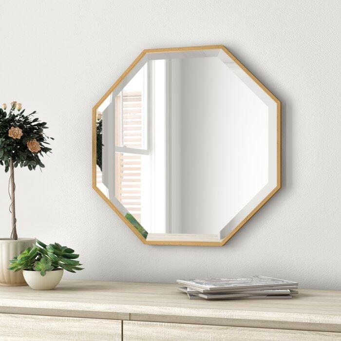 Morganton Modern & Contemporary Beveled Accent Mirror Inside Modern & Contemporary Beveled Accent Mirrors (#14 of 20)