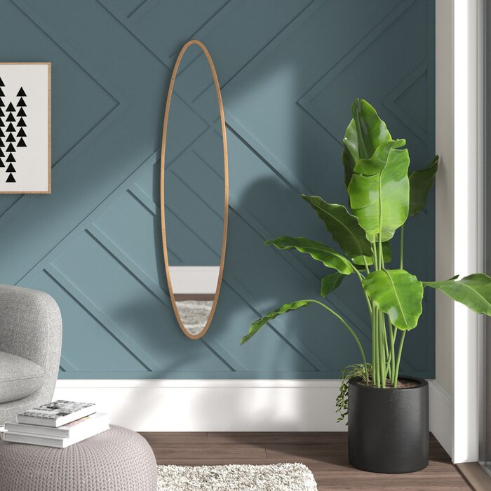 Inspiration about Morrisania Oval Accent Mirror With Rhein Accent Mirrors (#9 of 20)