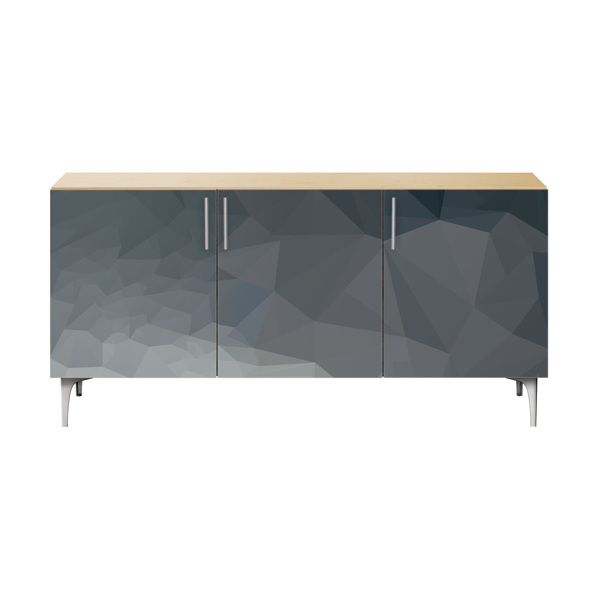Inspiration about Morrow Sideboard With Latest Jacklyn 3 Door Sideboards (#4 of 20)