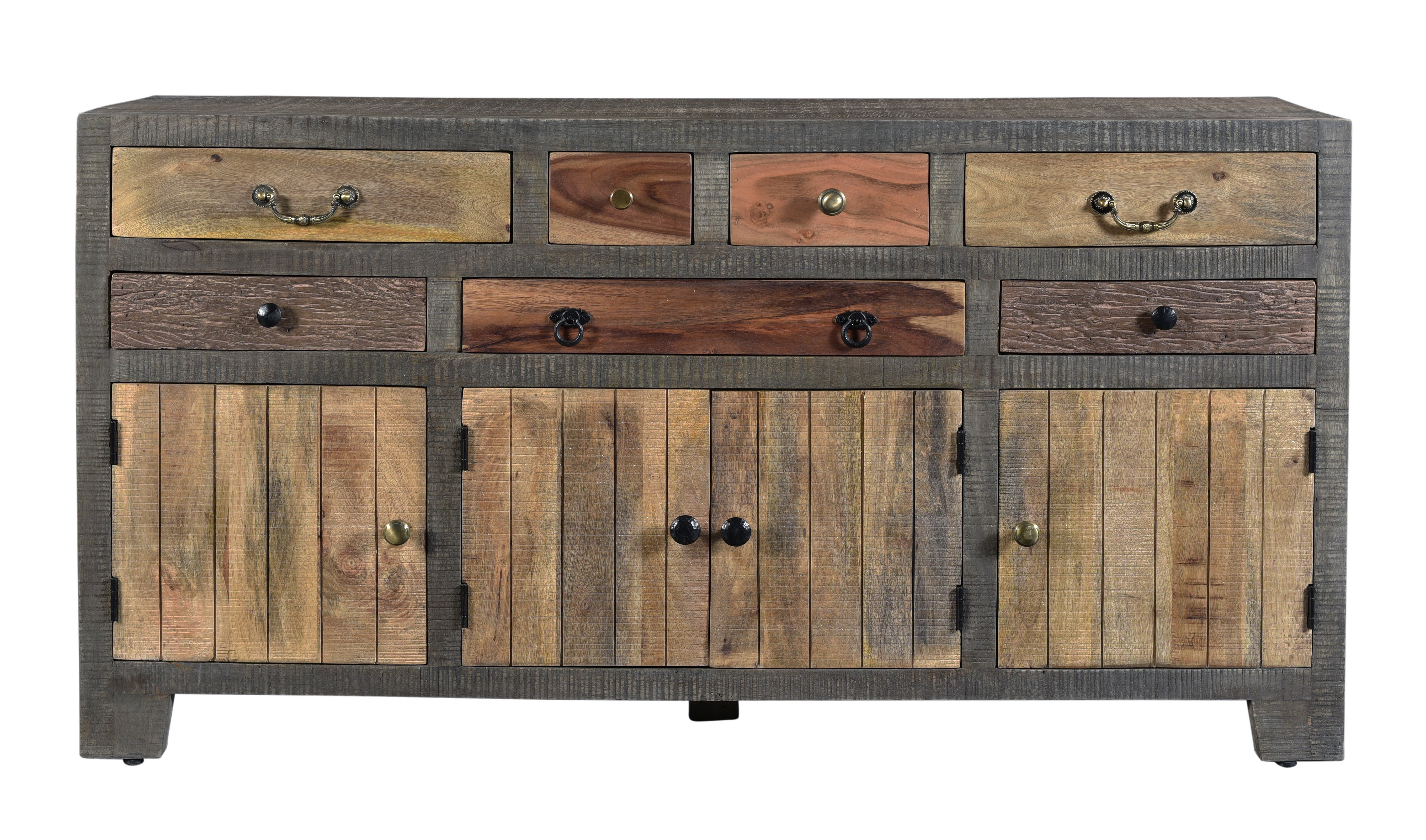 Inspiration about Moultry 7 Drawer 4 Door Sideboard Throughout 2018 Drummond 3 Drawer Sideboards (#10 of 20)